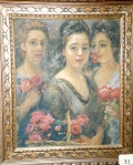 10.O - Flores de Sta. Rita (48 x 58 Cms) 1.960