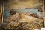 105.O - La Barra de Llanes (80 x 62 Cms) 1.977