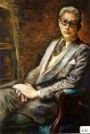 107.O - Retrato de Pedro Caravia, o El Pensador (81 x 99 Cms) 1.977