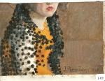 112.O - Estudio de Mantilla (60 x 50 Cms) 1.941