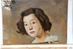 121.O - Estudio de cabeza para retrato de chica veneciana (28 x 40 Cms) Venecia 1.949)