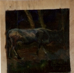 125.O - Estudio - b- Vaca (29 x 31 Cms) 1.975