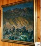 144.O - El Cuera y caballos ( 128 x 108 Cms) 1.958