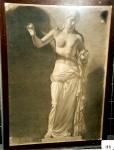 154.D - Diosa de la Manzana (76 x 106 Cms) Dibujo a carbón