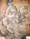 16.O - Figura en Porcelana (63 x 84 Cms) 1.977