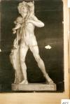 169.D - Fauno del cabrito (77 x 107 Cms) Dibujo a lápiz y carbón