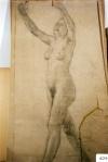 171.D - Dibujo en movimiento (87 x 157 Cms) Dibujo a lápiz