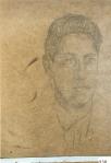 177.D - Estudio de cabeza (42 x 33 Cms) Dibujo a lápiz sobre tablés
