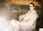 21.O - Retrato de José García (114 x 87 Cms) 1.951