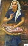 26.O - Vendedora de Pescado o Sardinera (43 x 73 Cms) 1.975