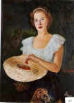 27.O - Retrato de Covina Sordo (75 x 98 Cms) 1.943