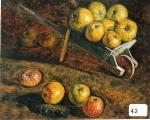 31.O - El carretillo de Juán Purón-Colubi, o Bodegón del carretillo (72 x 60 Cms) 1.958