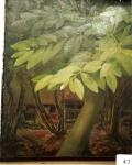 35.O - El castañedo del huerto ( 85 x 100 Cms) 1.968