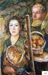 37.O - Bodegón del hacha, o Leñadores (58 x 100 Cms) 1.984