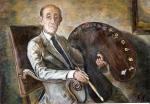 39.O - Retrato de Paulino Vicente (129 x 93 Cms) 1.985
