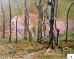4.O - Sol de invierno y bosque (72 x 58 Cms) 1.944