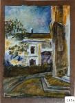 43.O - Estudio, Palacio Quemado (23 x 33 Cms) 1.965
