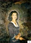 43.O - Retrato de Mª. Jesús Elizama (89 x 109 Cms) 1.949