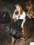 44.O - Retrato de la Nena Somohano (110 x 130 Cms) 1.953