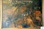 50.O - El Bueyero y sus bueyes en La Raizona de La Llavandera (163 x 113 Cms) 1.960
