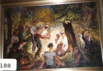 51.O - Juego de Bolos (115 x 77 Cms) 1.979 (2)