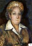 53.O - Retrato de la esposa del pintor (51 x 59 Cms) 1.982