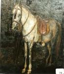 55.O - Estudio de yegua con silla de montar (60 x 730Cms) 1.934