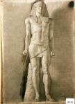 57.D - Egipcio (77 x 107 Cms) Dibujo a lápiz