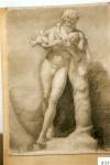 59.D - Desnudo con niño en brazos (77 x 107 Cms)Dibujo a lápiz
