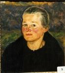 6.O - Retrato de mi madre (43 x 48 Cms) 1.941