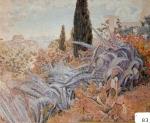 61.O - El jardín de Rigoberto Soler (71 x 59 Cms) 1.942