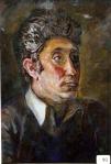 69.O - Estudio de retrato de Manolo, o Manolo (51 x 59 Cms) 1.983