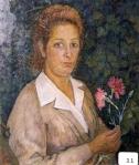 7.O - Retrato de los claveles (48 x 60 Cms) 1.957