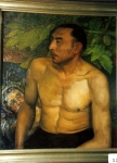 8.O - El gitano con hojas de higuera (63 x 72 Cms) 1.936
