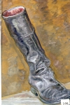 80.O - Estudio de la bota de montar (45 x 65 Cms) 1.978