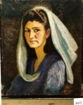 81.O - Retrato de Chelo (50 x 61 Cms) 1.943