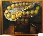 85.O - Bodegón de la paleta grande (78 x 68 Cms) 1.983