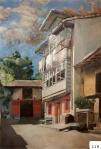 87.O - La casa de la Portilla (85 x 100 Cms) 1.935