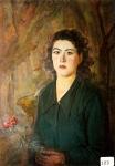 92.O - Retrato de Elena (58 x 78 Cms) 1.946)