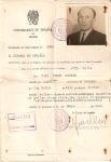 Visado del Consulado Español en Roma